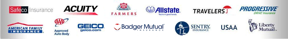 Badger Mutual | American Family | Geico | AllState | Progressive | AAA | Acuity | Farmers